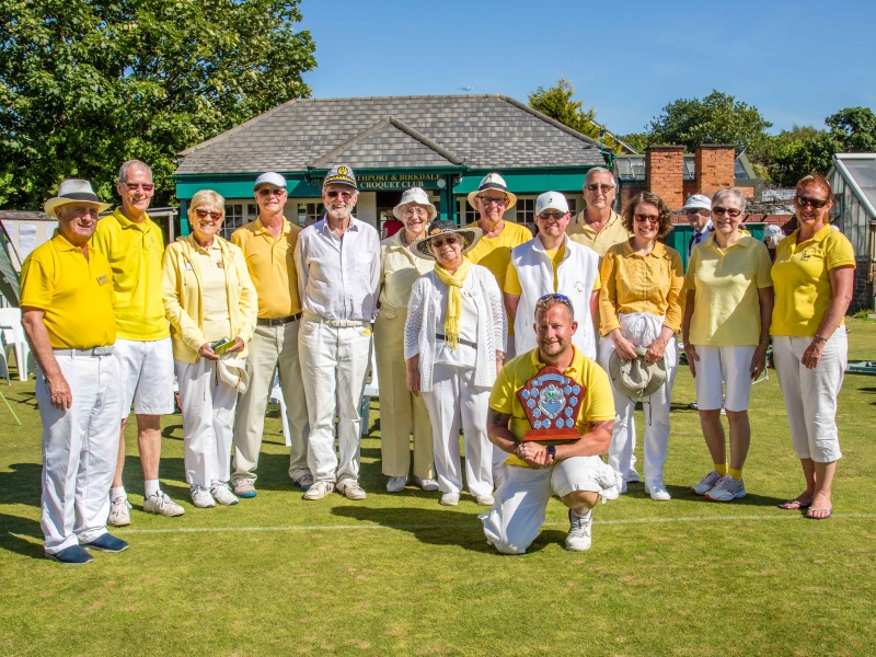 2018 Festival - Bury Squad with the Handicap Trophy