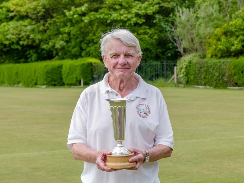 Brian Lewis - inaugural winner of the first Carol Lewis Trophy