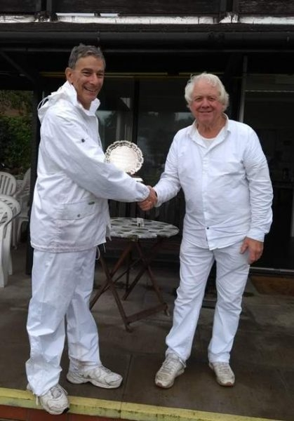 Bowdon B Winner Mike Sandler with Charles Harding