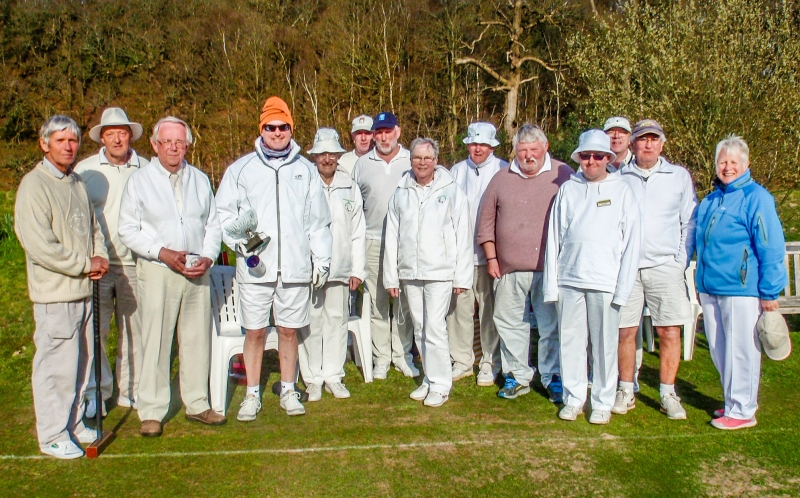 Participants in the 2019 Crake Valley Alternate Stroke Doubles Tournament.