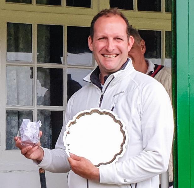 Alain Giraud with the 2019 Sandiford Salver