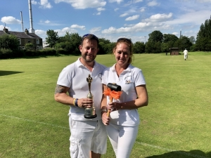 Chris and Anne Alvey Winners at Pendle