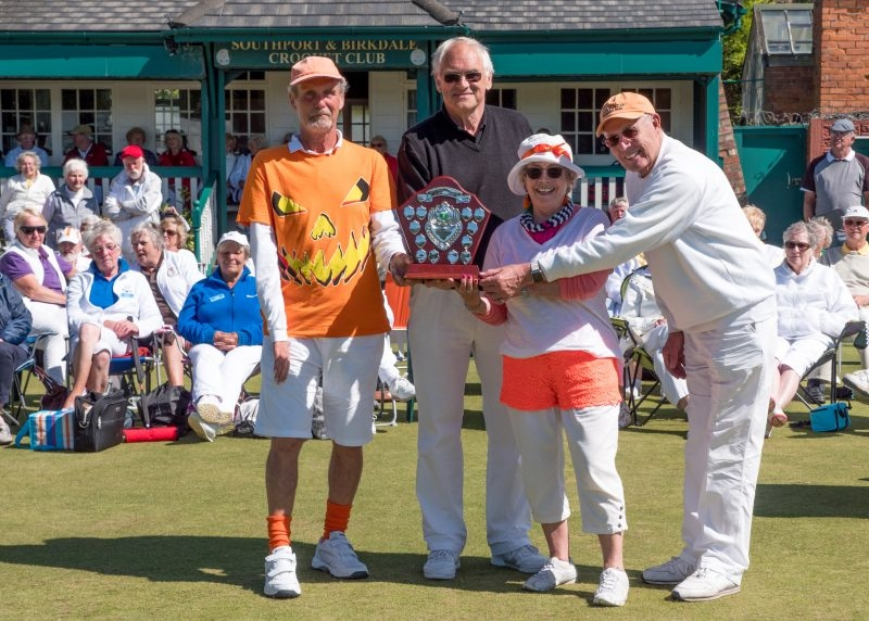 Bowdon 2017 Short Croquet Winners