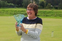 Sandy Grievson (Chester) with the Invitation Trophy