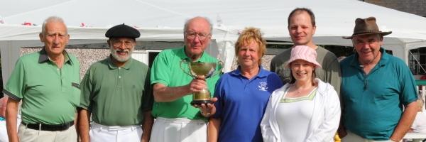 Successful Pendle team - Federation Jubilee Festival Champions 2012