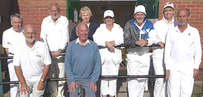 Players at the Bury Handicap October 2010