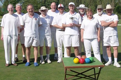 Pendle B Level players May 2010