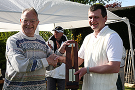 Matt Holmes winner of Millennium Handicap at Chester 2010