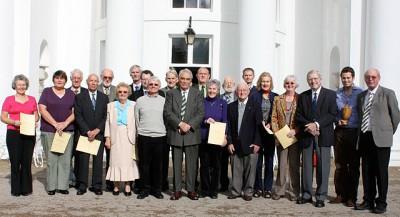 Croquet Association Award Holders at the AGM, Hurlingham
