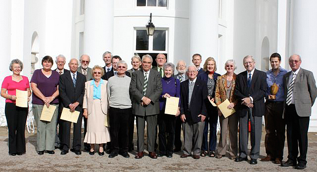 Croquet Association Award Holders at the AGM, Hurlingham