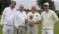 Bury's winning Longman Cup team: