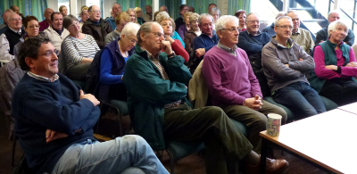 Packing them in Bowdon clubhouse