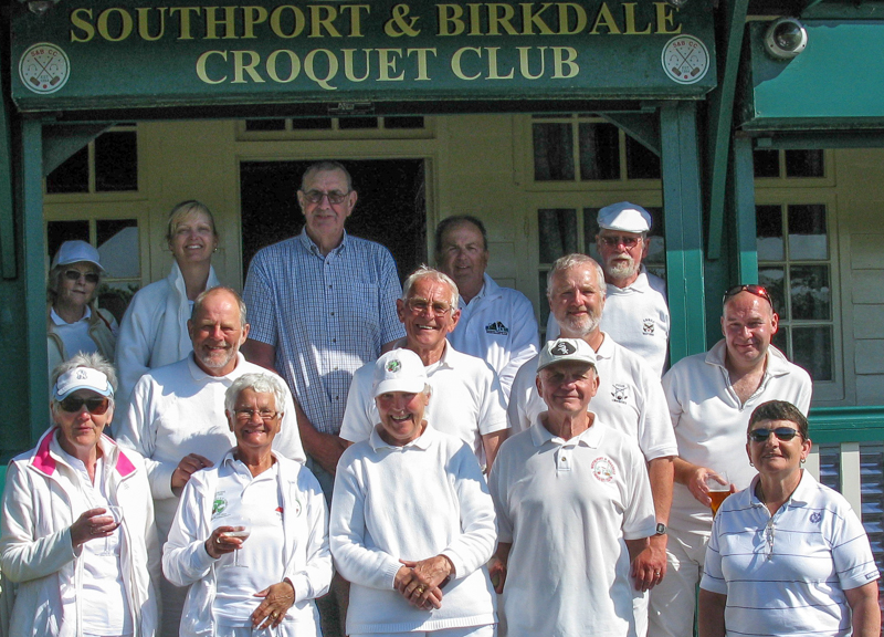 Some of the competitors in the Southport May Handicap Tournament