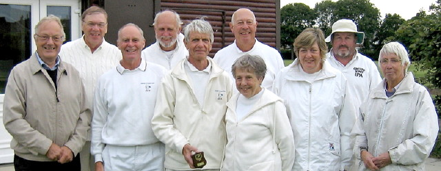 Participants in the northern area final of the All England Championship at Chester