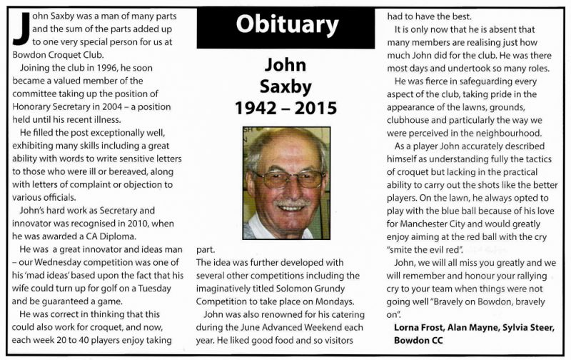 2015_Obituary_John Saxby WEB2
