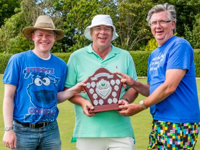 2015 Festival Advanced Trophy presented to Fylde