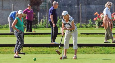 Members Day at a Croquet Club