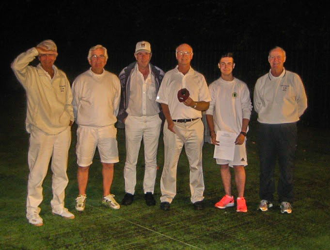 All England Regional AC Final players at dusk