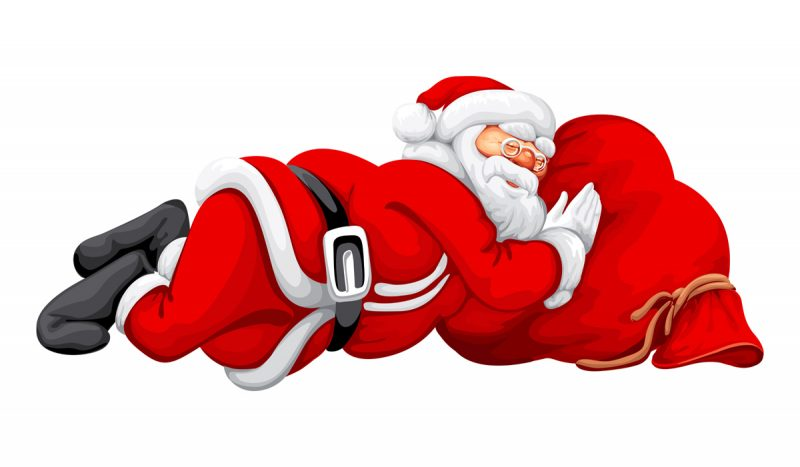 santa-sleeping