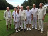 Pendle Reach Croquet Final in Murphy Shield
