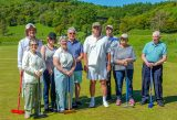 Bronze Golf Croquet Training at Crake