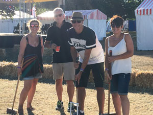 Croquet at Countryfile Live (Photo: Alison Jones)